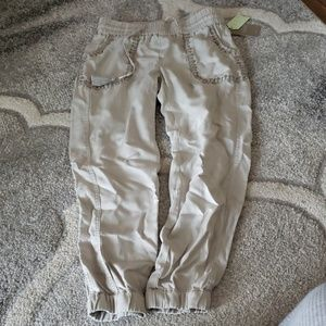 NWT Anthropologie Joggers XS